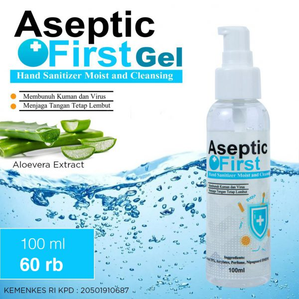 hand sanitizer,aseptic,100ml