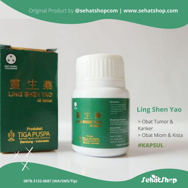 ling shen yao,ling shen yao kapsul,obat tumor,herbal tumor,obat kanker,herbal kanker,obat miom alami