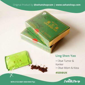 ling shen yao,ling shen yao serbuk,anti kanker,obat kanker,obat miom,obat tumor